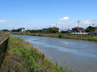 2020年6月 見沼代用水路の起点を目指す