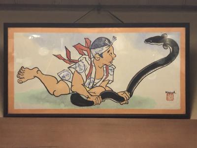 土用の丑の日が来る前に、魚庄本店で鰻をいただきました