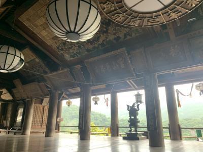 神秘的 雨の奈良 長谷寺