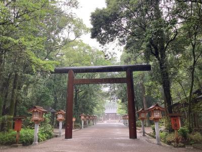 宮崎神宮とチキン南蛮