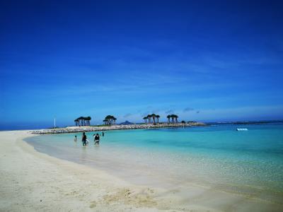 すでに真夏の沖縄