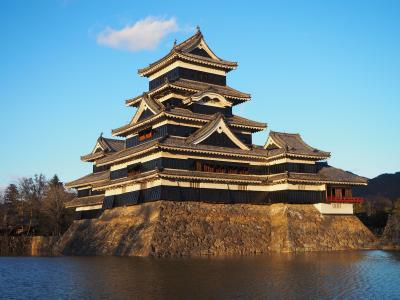 2020如月 長野県の日本百名城5城を一気に巡る ②6年ぶりの国宝松本城、そしてホテルブエナビスタで一泊