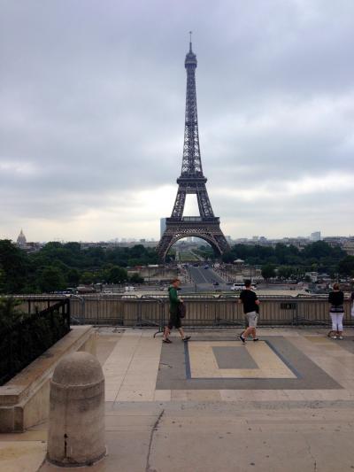 はじめてのヨーロッパ旅行 パリ、南仏トゥーロン、モンペリエ
