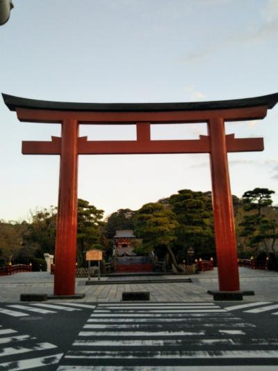 深秋の鎌倉をハイキングウォーキング