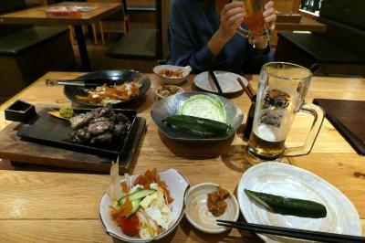 地頭鶏(じとっこ)組合の夕食
