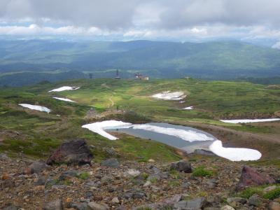 旭岳と十勝岳、さらに東部のトムラウウシ近くまで3泊4日の旅(1)~旭岳