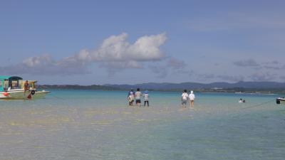夏!!八重山諸島 石垣島幻の島上陸とシュノーケリングツアー