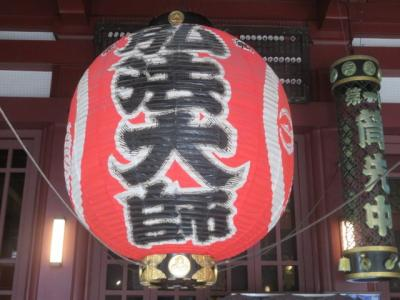 川崎大師を参拝して境内を散策しました