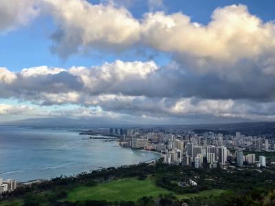 アメリカ ハワイ/オアフ島 ダイヤモンドヘッド~カイルア~ワイナマロ