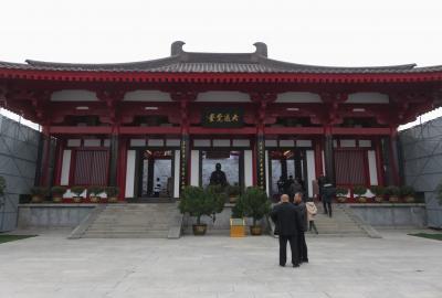 2019秋、中国旅行記25(33/34):11月20日(10):西安(20):大雁塔(3):玄奘三蔵院、大通覚堂