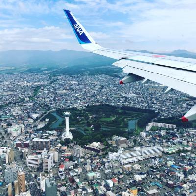 5・7歳児連れ、函館週末旅行