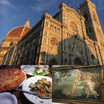 キャセイパシフィック航空で行くイタリア新婚旅行⑨フィレンツェ散策& ウフィツィ美術館