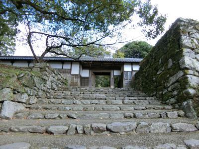 2019年 11月 福岡県 朝倉市 秋月城 重要伝統的建造物群保存地区