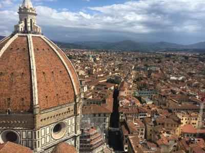 キャセイパシフィック航空で行くイタリア新婚旅行⑩フィレンツェ2日目観光
