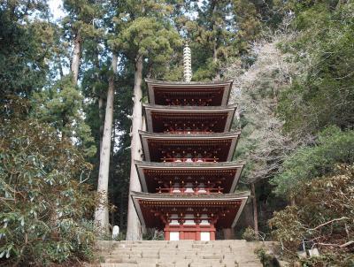 2019年冬 京都と奈良のひとり旅 三日目【1】室生寺 奥の院までの長い石段