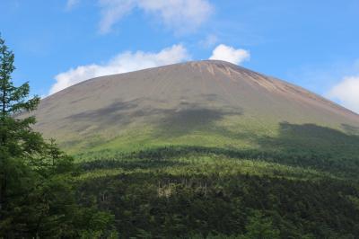 浅間山 車坂峠からJバンド周回からの前掛山登山