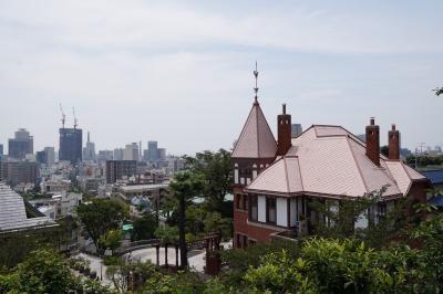 20200720-1 神戸 北野行って、天満神社と、風見鶏の館、萌黄の館、ラインの館