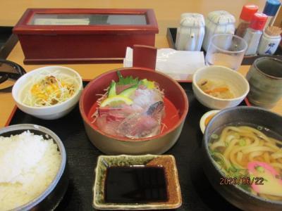 愛媛(伊予一国)ドライブ巡礼(21)西予市道の駅「どんぶり館」で昼食。