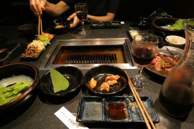 焼肉飯店 京昌園三島駅南口店の夕食
