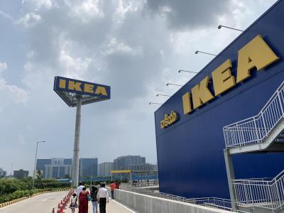 【インド】ハイデラバード IKEAに行ってきました