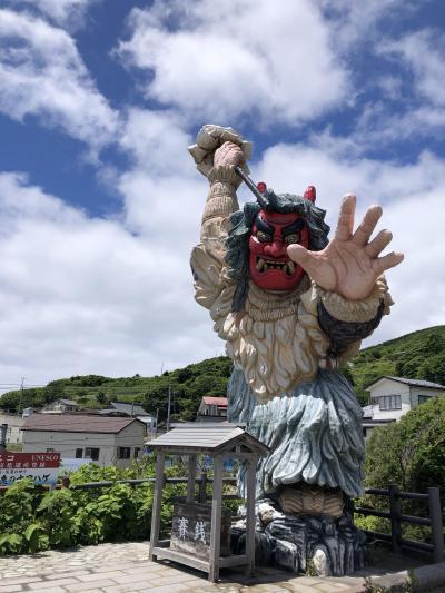 5・7歳児連れ、週末秋田で大館能代から男鹿半島周遊の旅