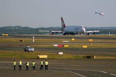 カンタス航空ボーイング747 モハベ砂漠行き最終フライト (Farewell to Last Qantas Boeing 747)