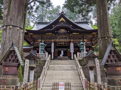 秩父のパワースポット三峯神社