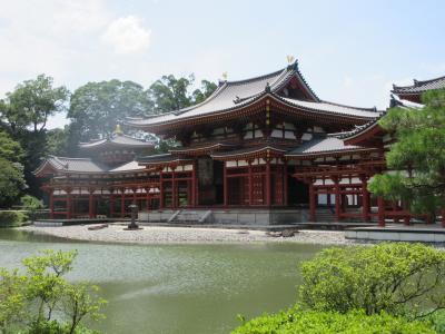 三室戸寺の紫陽花や夏越しの祓いも過ぎて 世界遺産・宇治の平等院に詣でました