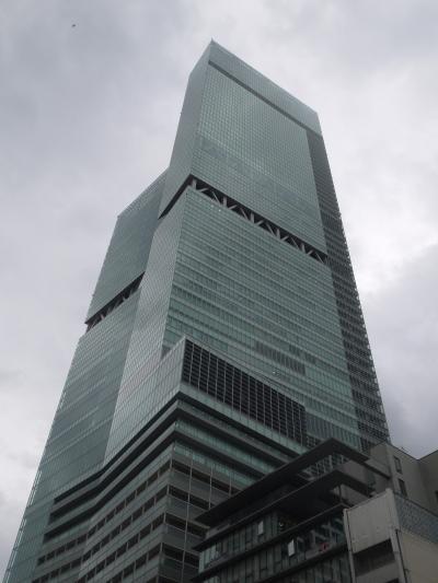 恐る恐るの大阪 お泊りはあべのハルカスのマリオット都ホテル大阪です