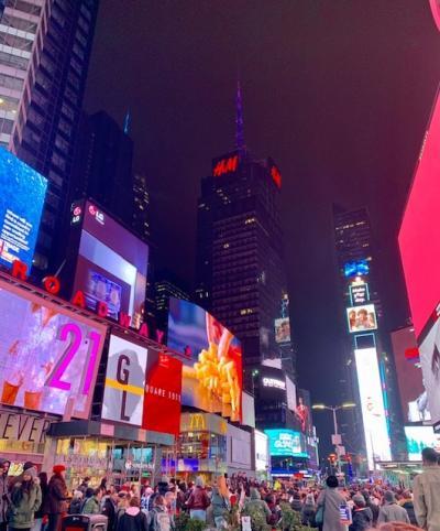 ニューヨーク一人旅 - マスク着用編 02/2020