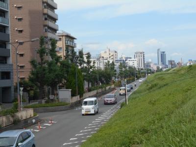 十三から塚本周辺・・「高低差」地形散歩