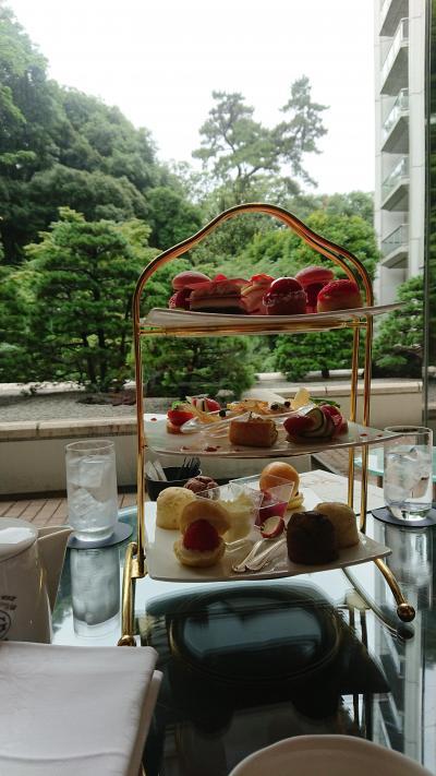 4連休ランチと夏イチゴのアフタヌーンティ食べある記 in 東京