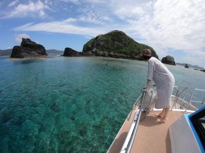 真夏、てぃだかんかん。那覇から日帰り慶良間ボートシュノーケリングの巻