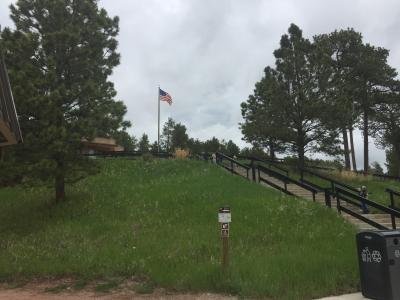 サウスダコタ州 ジュエル ケーブ国定公園 - ビジター センター