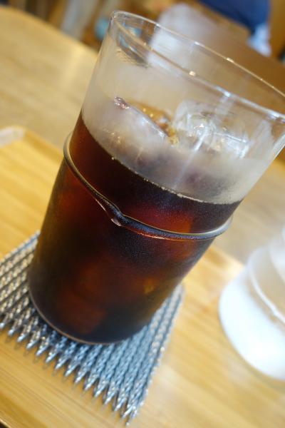 20200723-2 京都 Kaikado Cafeで水出しアイスコーヒー