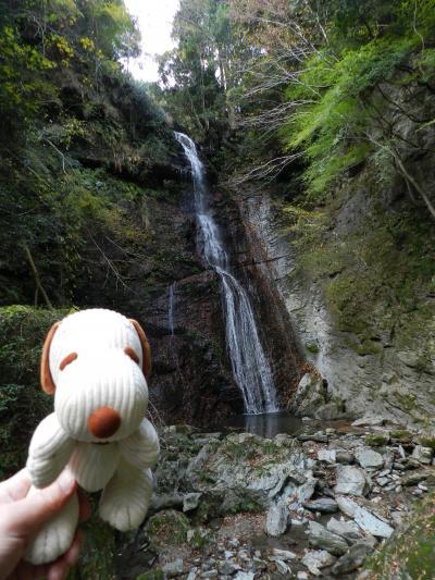 美馬市穴吹町にかかる『閑定の滝』◆復興割を使って徳島&高知の滝めぐり《その3》
