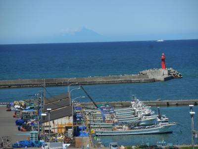 青空!日本海へ