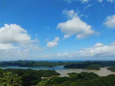 異国の見える島へ。長崎前泊と対馬1泊2日。―異国は見えなかったけど、梅雨でもまずまずの天気♪―