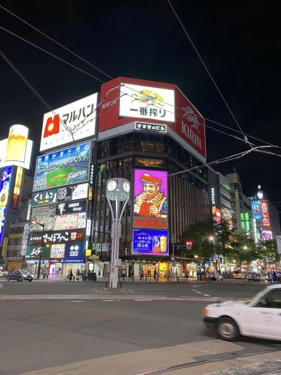 7月オリンピック開会式(だった)連休は岡山経由札幌行き! その2
