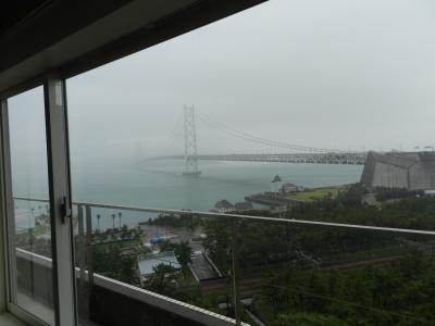 『シーサイドホテル舞子ビラ神戸』宿泊記◆2018年9月・淡路島は雨だった《その1》