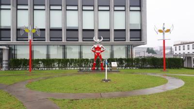 幼稚園児とウルトラマン旅IN福島県須賀川市