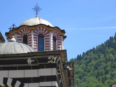 東方正教の世界#27-2019年7月18日(木)青空に映えるリラの僧院