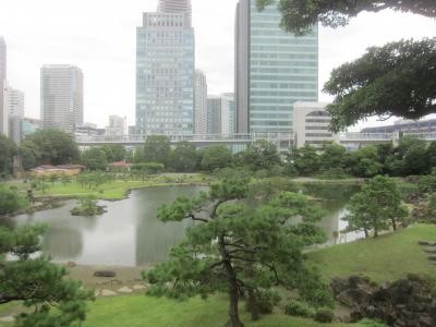 平日のお休みに浜松町で芝離宮庭園をのんびりとお散歩する