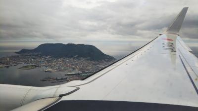羽田空港→函館空港/JAL特典航空券