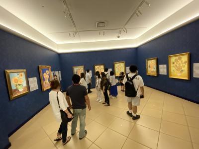 大塚国際美術館でゴッホの7つのヒマワリを観る