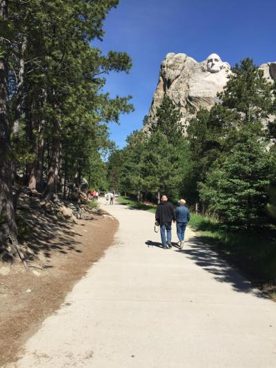 サウスダコタ州 マウント ラッシュモア国立記念公園 - プレジデンタル トレイル