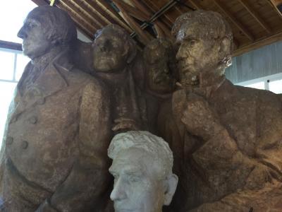 サウスダコタ州 マウント ラッシュモア国立記念公園 - スカルプターズ スタジオ