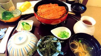 大阪の飲み友と鰻を食べました。