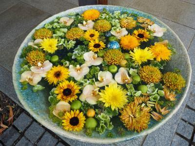 行田八幡神社の花手水を見たくて参拝しに行ってきました