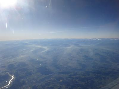 絶景が広がるアルプスの山歩きと鉄道の旅:スイス、リヒテンシュタイン旅行【1】(2019年秋 1日目、2日目① 憧れのスイスへ)